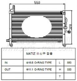 PXNCC006 PARTS-MALL Конденсатор