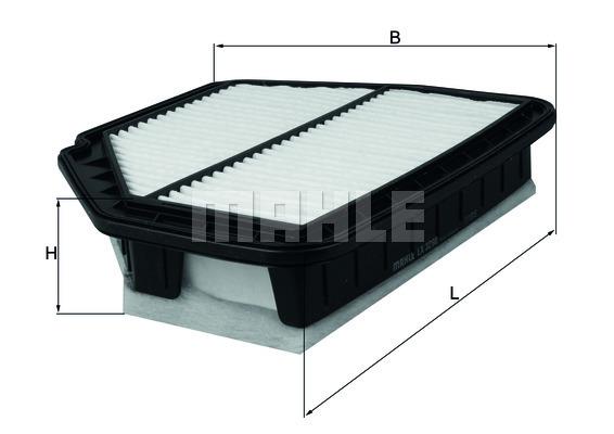 LX3298 MAHLE/KNECHT Воздушный фильтр