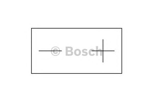 0092M60060 BOSCH Батарея аккумуляторная
