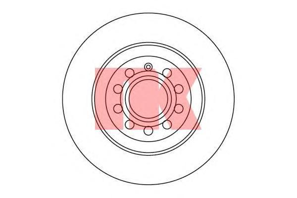 3147109 NK Тормозной диск