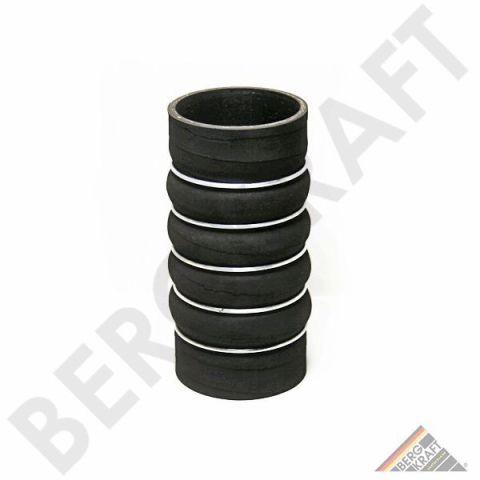 BK8700771 BERGKRAFT Шланг наддувочного воздуха D=85mm/L=190-200mm (черный) MB AXOR