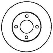 561690J JURID Тормозной диск