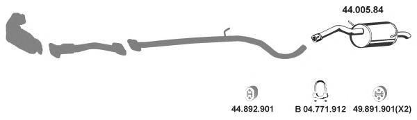 Система выпуска ОГ EBERSPACHER 442156