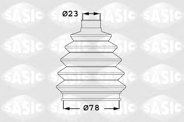 1906019 SASIC Комплект пылника, приводной вал