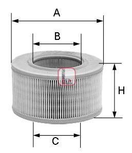 S7239A SOFIMA Воздушный фильтр