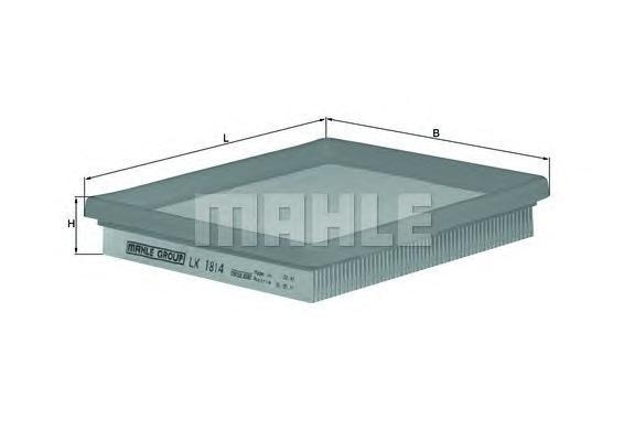 LX1814 MAHLE Воздушный фильтр