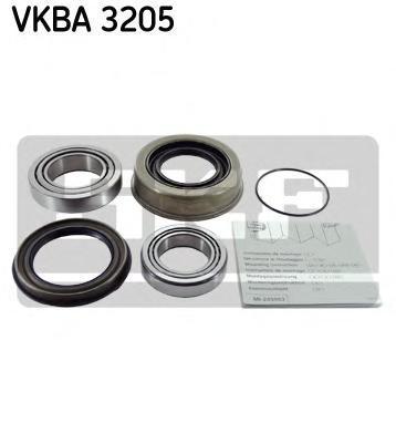 Комплект подшипника ступицы колеса SKF VKBA3205
