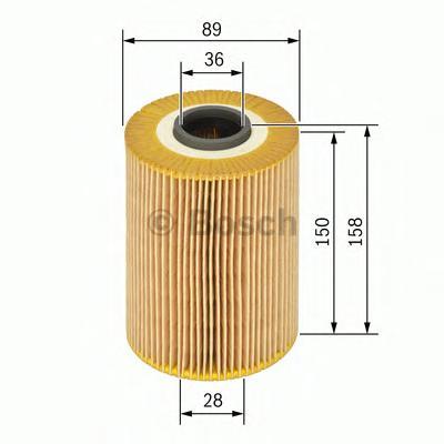 1457429123 BOSCH Масляный фильтр