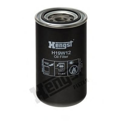 Масляный фильтр HENGST FILTER H19W12