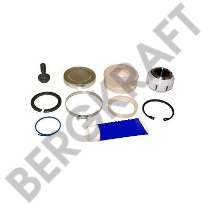 BK2962221SP BERGKRAFT Ремкомплект реактивной тяги D=72mm/H=45mm/M20x1.5mm DAF F65/75/85/95,65/75/85CF,95XF,CF85