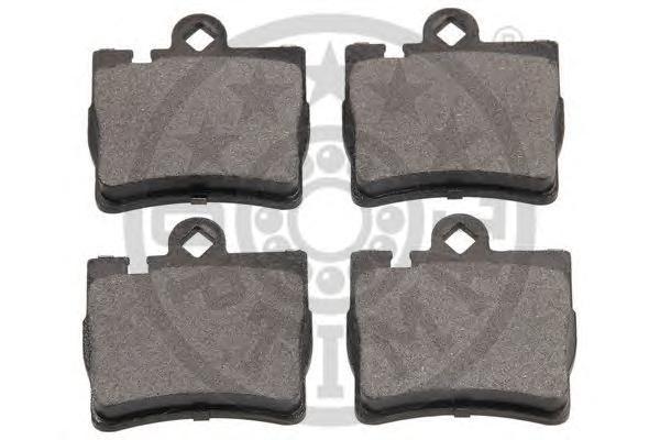 Комплект тормозных колодок, дисковый тормоз OPTIMAL 12098