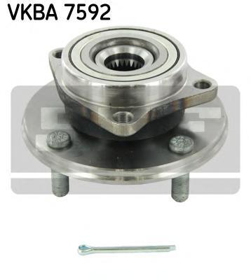 Комплект подшипника ступицы колеса SKF VKBA7592