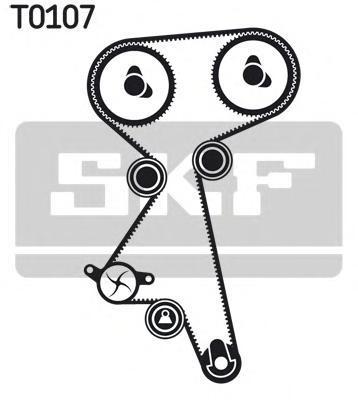 VKMC051501 SKF Водяной насос + комплект зубчатого ремня