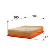 585048 VALEO Воздушный фильтр