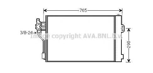 MSA5484 AVA Конденсатор, кондиционер