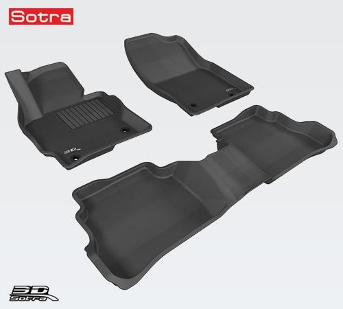 ST7400042 SOTRA Коврики салона Liner 3D Lux текстильные Mazda CX-5 (2012-2016) с бортиком