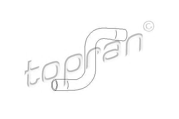 102996 TOPRAN Шланг радиатора
