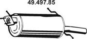 4949785 EBERSPACHER Глушитель выхлопных газов конечный