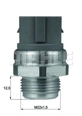 TSW48D BEHR-HELLA Термовыключатель, вентилятор радиатора