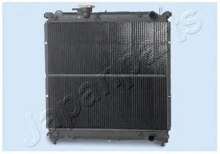 RDA142004 JAPANPARTS Радиатор, охлаждение двигателя
