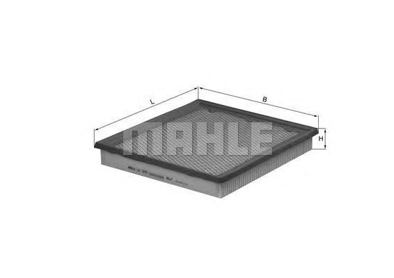 LX1273 MAHLE/KNECHT Воздушный фильтр