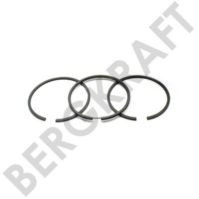 BK8501379 BERGKRAFT Комплект поршневых колец компрессора D=88.0mm STD (толщ. 2.5x2.5x4.0mm) VOLVO FM12 (G1),FH12/FH16
