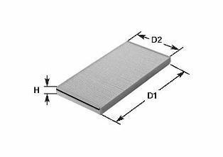 NC2312CA CLEAN FILTER Фильтр, воздух во внутреннем пространстве