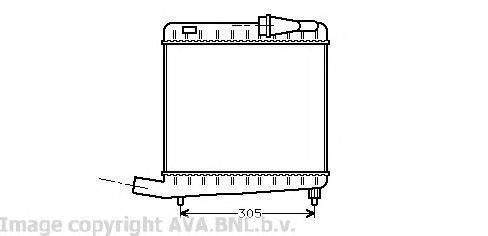 Интеркулер AVA VO4045