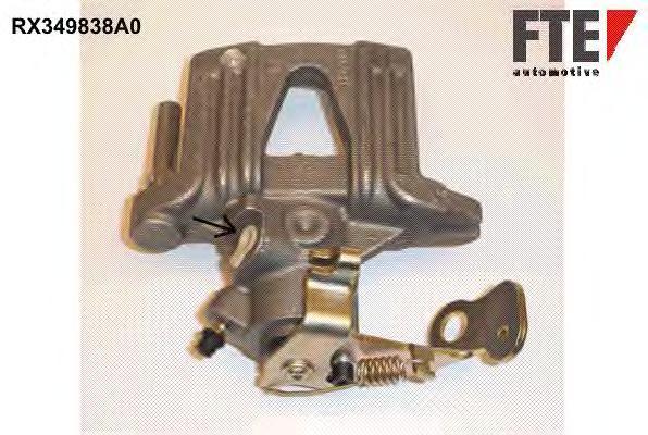 Тормозной суппорт FTE AUTOMOTIVE RX349838A0