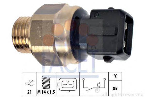 74101 FACET термовыключатель, сигнальная лампа охлаждающей жидкости