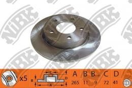 Тормозной диск NIBK RN1369