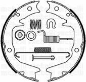 530265K METELLI Комплект тормозных колодок, стояночная тормозная система