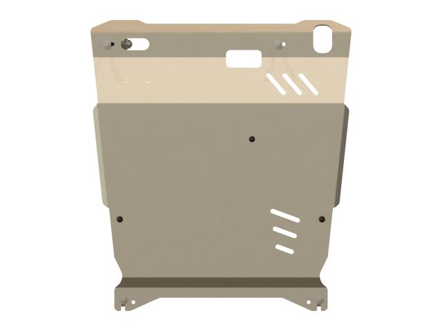 171292 SHERIFF Защита картера и КПП, AL 5 мм, вес: 10,9, время  установки: 15-30 мин.