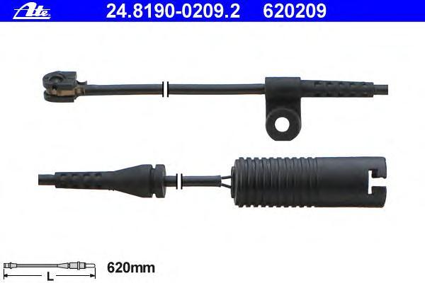 Датчик износа тормозных колодок ATE 24819002092