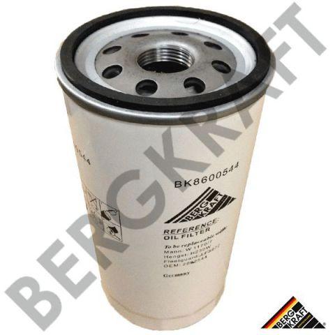 BK8600544 BERGKRAFT Фильтр масляный (M+H: W1170/7) Iveco EuroTech,Stralis,AD/AT/AS Stralis,EuroTrakker,AD/AT Trakker
