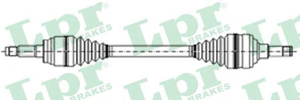 DS21047 LPR Приводной вал