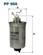 PP966 FILTRON Фильтр топливный Filtron