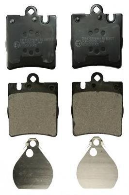 B110877 DENCKERMANN Комплект тормозных колодок, дисковый тормоз