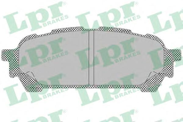 05P1335 LPR/AP Комплект тормозных колодок, дисковый тормоз