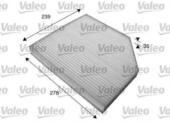715579 VALEO Фильтр, воздух во внутренном пространстве