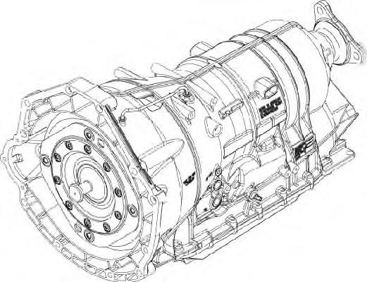 Автоматическая коробка передач ZF 1068012418