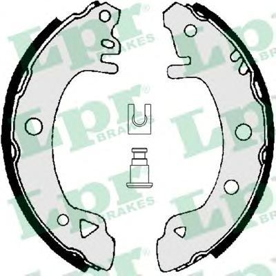Комплект тормозных колодок LPR/AP 01380