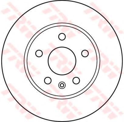 DF4995S TRW/LUCAS Тормозной диск