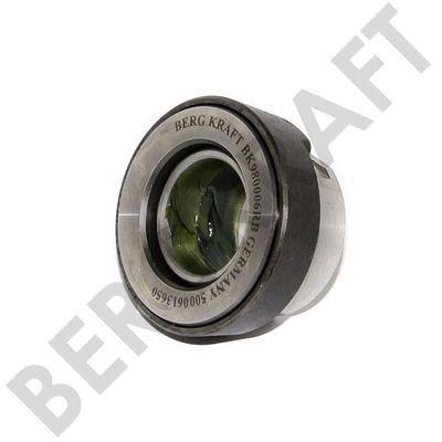 BK980006RB BERGKRAFT Муфта сцепления RENAULT RVI (3151 153 001)