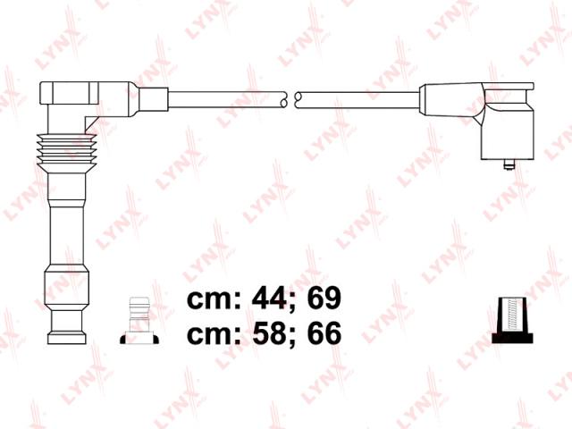 SPE8011 LYNX Провода высоковольтные