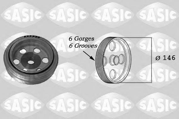 2150016 SASIC Ременный шкив, коленчатый вал