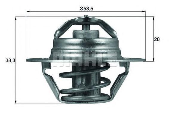 TX8882D BEHR-HELLA Термостат, охлаждающая жидкость