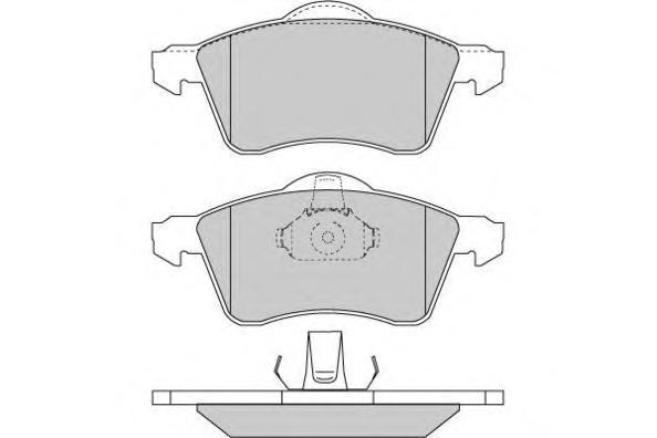 13046071022SETMS MASTER-SPORT Комплект тормозных колодок, дисковый тормоз