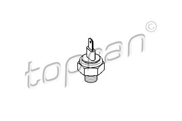 102936 TOPRAN Термовыключатель, вентилятор радиатора