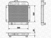 350213417000 MAGNETI MARELLI Радиатор, охлаждение двигателя